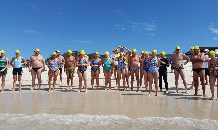 Jimmy's Beach Open Water Swim Hawks Nest NSW 2019
