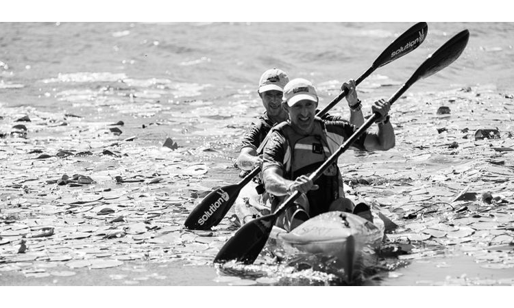 The Raid 100 Gold Coast Queensland 2019 kayakers