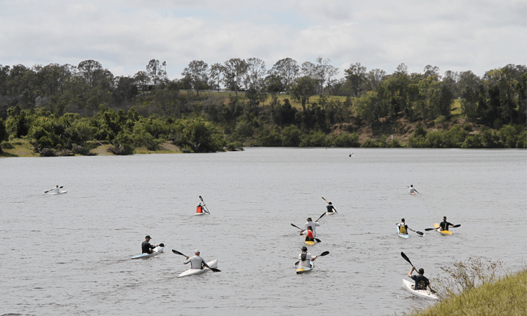 The Clarence 100 Paddle Challenge in NSW 2019