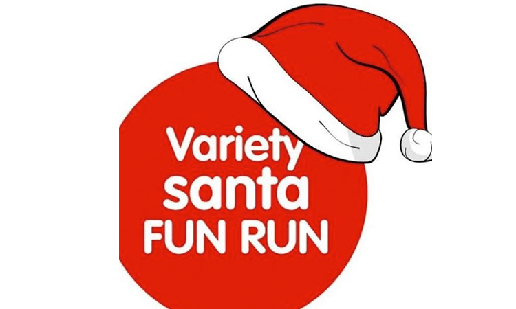 Variety Santa Fun Run Newcastle 2018