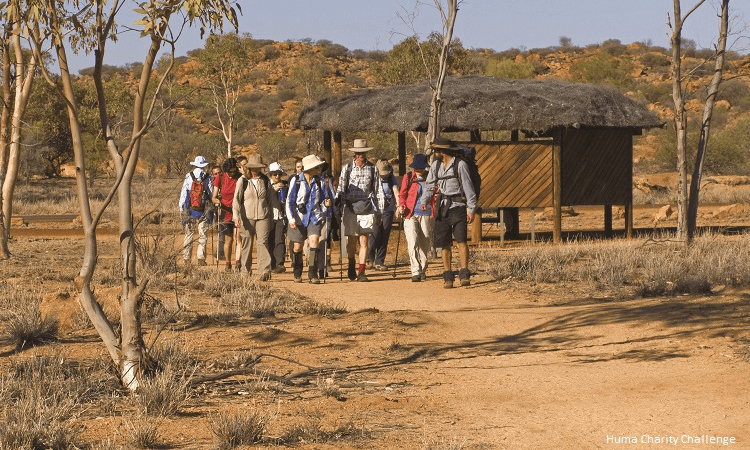 Team Vinnies Trek Larapinta May 2019