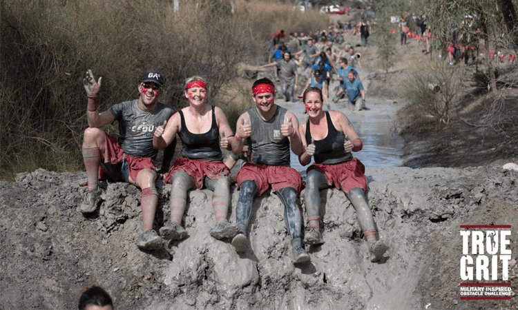 True Grit Adelaide South Australia 2019 muddy smiles