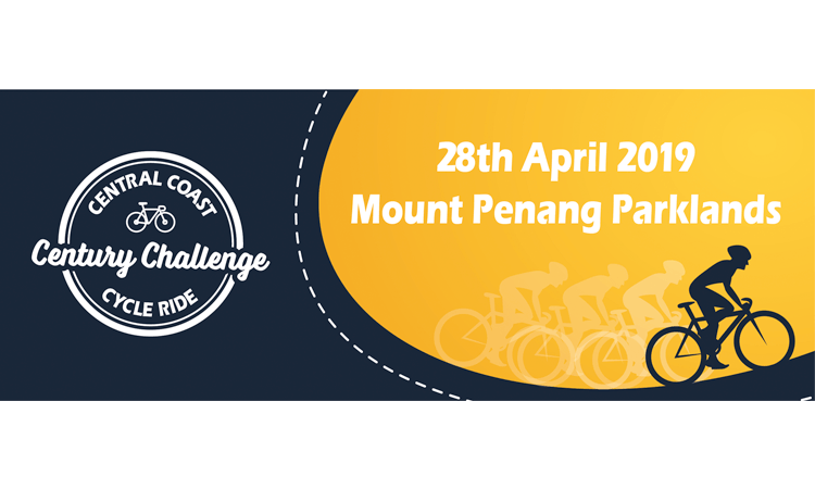 Century Challenge Cycle Ride Central Coast NSW 2019