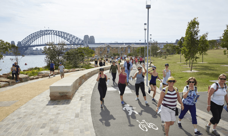 7 Bridges Walk fundraising challenge for the Cancer Council in Sydney 2020