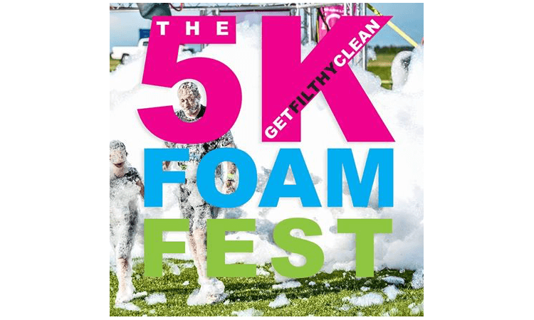 The 5k Foam Fest Melbourne Victoria 2019