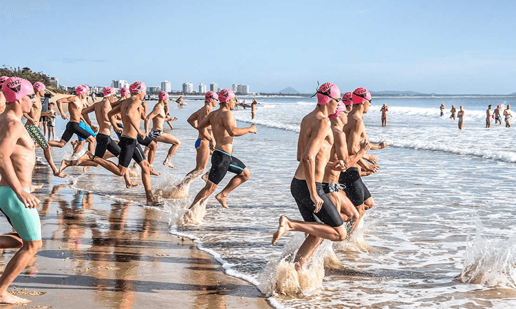 The Aussie Ocean Swim Burleigh Beach QLD 2020