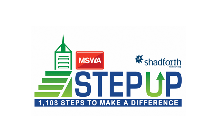 Perth Stair Challenge Step up for MSWA 2019