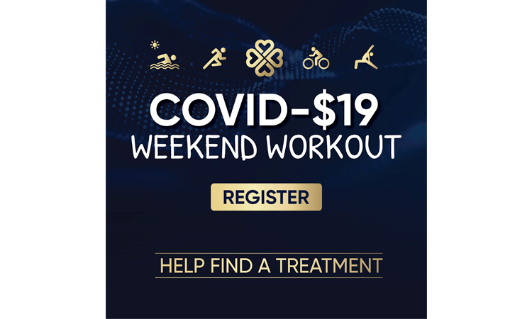 Covid $19 Weekend Workout Virtual Event fundraiser