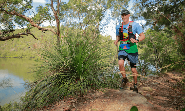 Jabulani Challenge Trail Run Ku Ring Gai National Park Sydney NSW