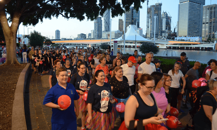 MS Moonlight Walk Brisbane Queensland