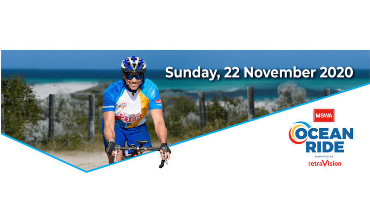 MSWA Ocean Ride Freemantle to Hillarys WA logo 2020