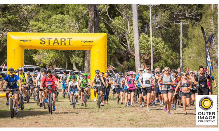 Maximum Adventure Race Series Lake Macquarie NSW Bikes