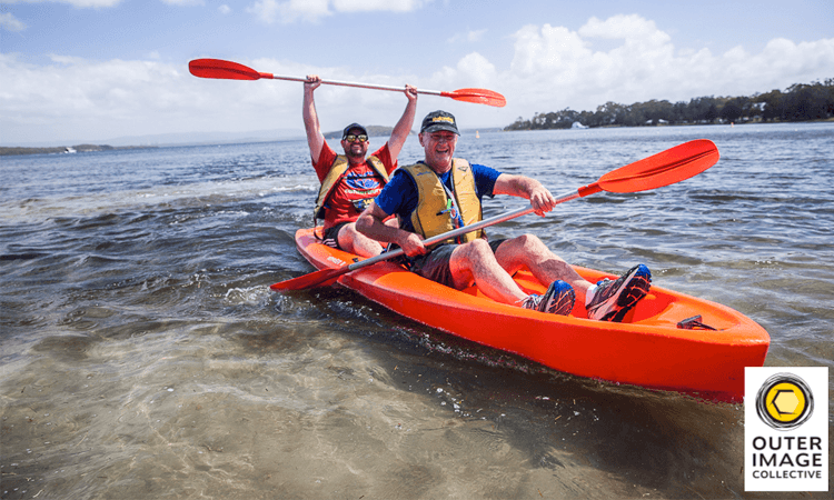 Maximum Adventure Race Series Lake Macquarie NSW Paddle