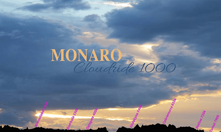 Monaro Cloudride 1000 Endurance MTB South East Australia