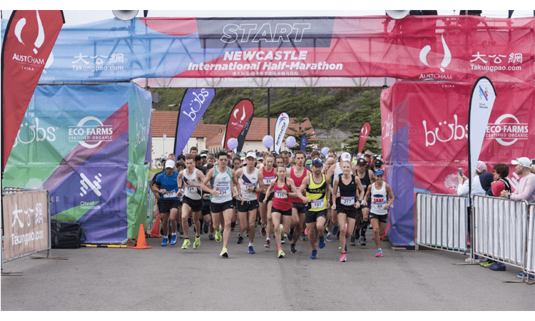 Newcastle International Half Marathon Run