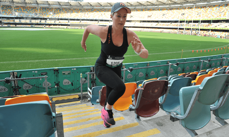 Stadium Stomp stair challenge GABBA 2020 Brisbane