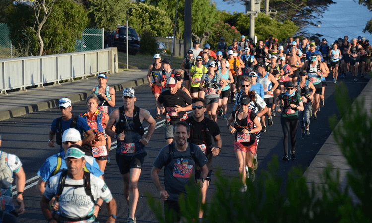 Two Bays Trail Run Mornington Peninsula Victoria 2022 runners