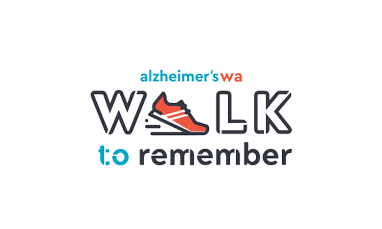 Walk to Remember Charity Walk Alzheimers Western Australia logo