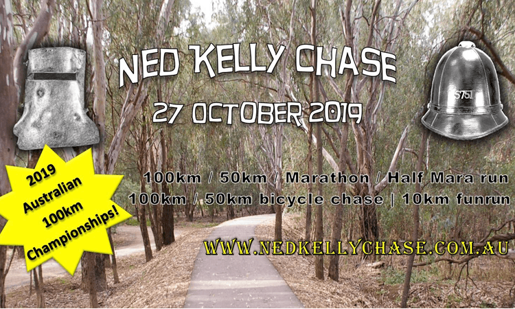 Ned Kelly Chase Wangaratta VIC 2019