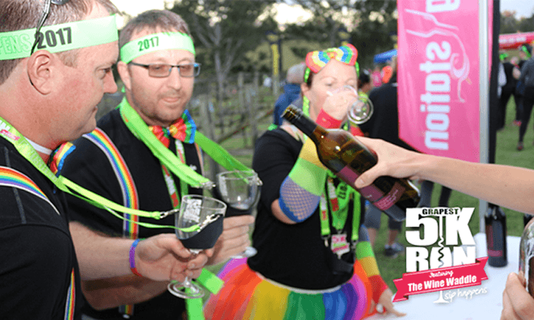 Grapest 5k Run Hunter Valley NSW 2019