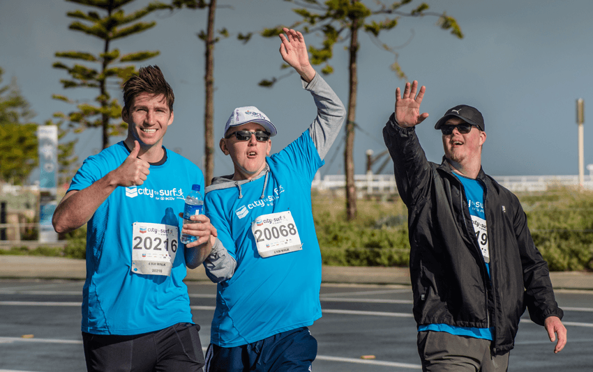 Chevron City to Surf for Activ - Busselton WA 2018