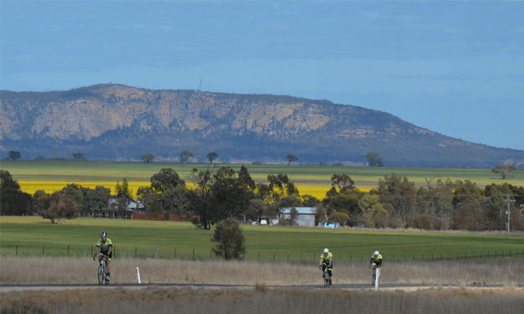 The Arapiles Cycling Event Victoria