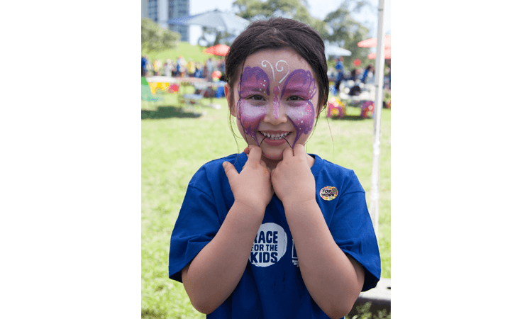 RBC Run for the Kids Sydney NSW 2019 smile