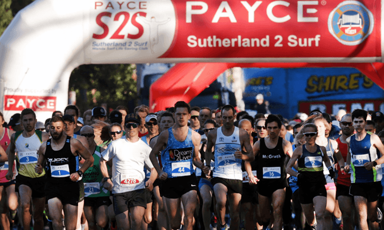 PAYCE Sutherland 2 Surf Fun Run in New South Wales 2020
