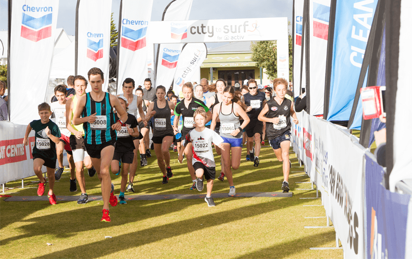 Chevron City to Surf for Activ - Geraldton WA 2018